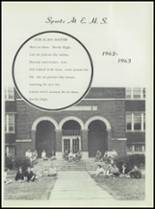 1963 Earle High School Yearbook Page 148 & 149