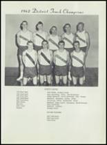 1963 Earle High School Yearbook Page 164 & 165