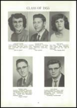 1955 Reliance High School Yearbook Page 52 & 53