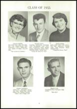 1955 Reliance High School Yearbook Page 54 & 55