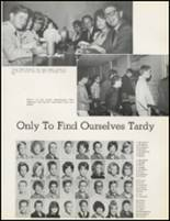 1965 Hawthorne High School Yearbook Page 116 & 117