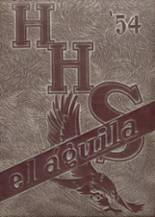 1954 Yearbook Hillsboro High School