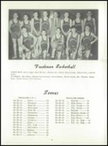 1956 Nehalem High School Yearbook Page 54 & 55