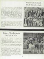 1974 Clinton High School Yearbook Page 122 & 123