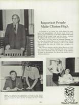 1974 Clinton High School Yearbook Page 132 & 133