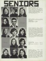 1974 Clinton High School Yearbook Page 152 & 153