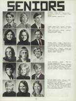 1974 Clinton High School Yearbook Page 156 & 157