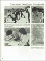 1982 Edison High School Yearbook Page 62 & 63