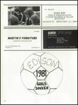 1982 Edison High School Yearbook Page 218 & 219