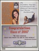 2007 Laingsburg High School Yearbook Page 158 & 159