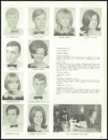 1967 West High School Yearbook Page 128 & 129