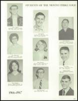 1967 West High School Yearbook Page 166 & 167