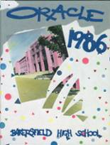 1986 Yearbook Bakersfield High School