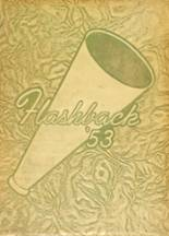 1953 Yearbook Roosevelt High School