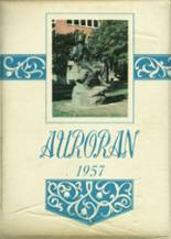 1957 Yearbook East Aurora High School