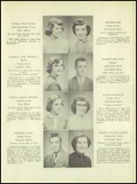 1952 Lee Academy Yearbook Page 10 & 11