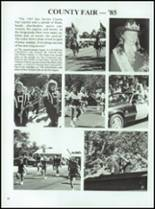 1986 Coldspring High School Yearbook Page 56 & 57