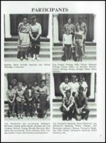 1986 Coldspring High School Yearbook Page 60 & 61