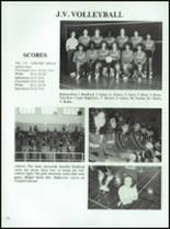 1986 Coldspring High School Yearbook Page 72 & 73