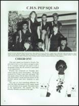 1986 Coldspring High School Yearbook Page 100 & 101
