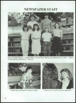 1986 Coldspring High School Yearbook Page 110 & 111