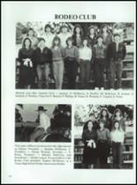 1986 Coldspring High School Yearbook Page 126 & 127