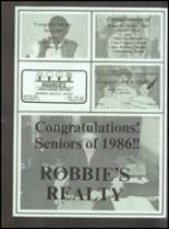 1986 Coldspring High School Yearbook Page 204 & 205