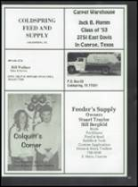 1986 Coldspring High School Yearbook Page 208 & 209
