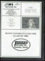 1986 Coldspring High School Yearbook Page 210 & 211