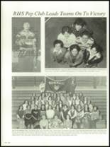 1978 Russell High School Yearbook Page 128 & 129