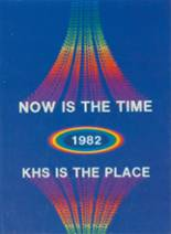 1982 Yearbook Katy High School
