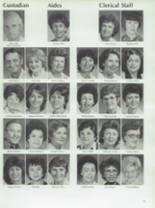 1984 Half Hollow Hills High School East Yearbook Page 36 & 37