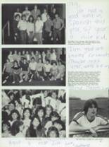 1984 Half Hollow Hills High School East Yearbook Page 98 & 99