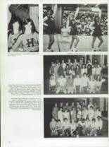 1984 Half Hollow Hills High School East Yearbook Page 108 & 109