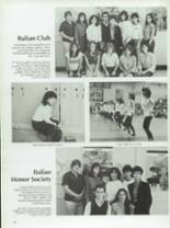 1984 Half Hollow Hills High School East Yearbook Page 124 & 125