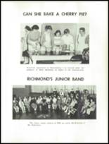1960 Richmond High School Yearbook Page 66 & 67