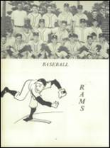 1963 Stedman High School Yearbook Page 100 & 101