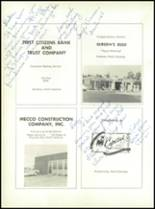 1963 Stedman High School Yearbook Page 128 & 129