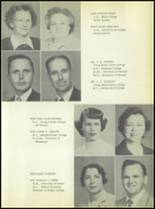 1953 Commerce High School Yearbook Page 12 & 13