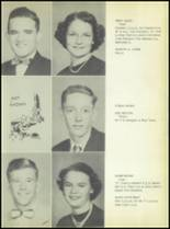 1953 Commerce High School Yearbook Page 16 & 17