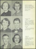 1953 Commerce High School Yearbook Page 18 & 19