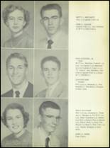 1953 Commerce High School Yearbook Page 20 & 21