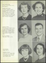 1953 Commerce High School Yearbook Page 22 & 23