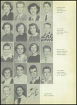 1953 Commerce High School Yearbook Page 34 & 35