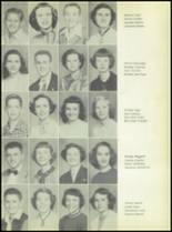 1953 Commerce High School Yearbook Page 38 & 39