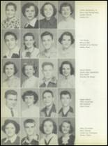1953 Commerce High School Yearbook Page 40 & 41