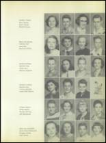 1953 Commerce High School Yearbook Page 44 & 45