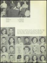 1953 Commerce High School Yearbook Page 46 & 47