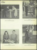 1953 Commerce High School Yearbook Page 52 & 53