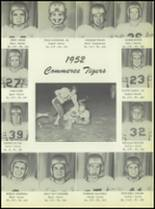 1953 Commerce High School Yearbook Page 56 & 57